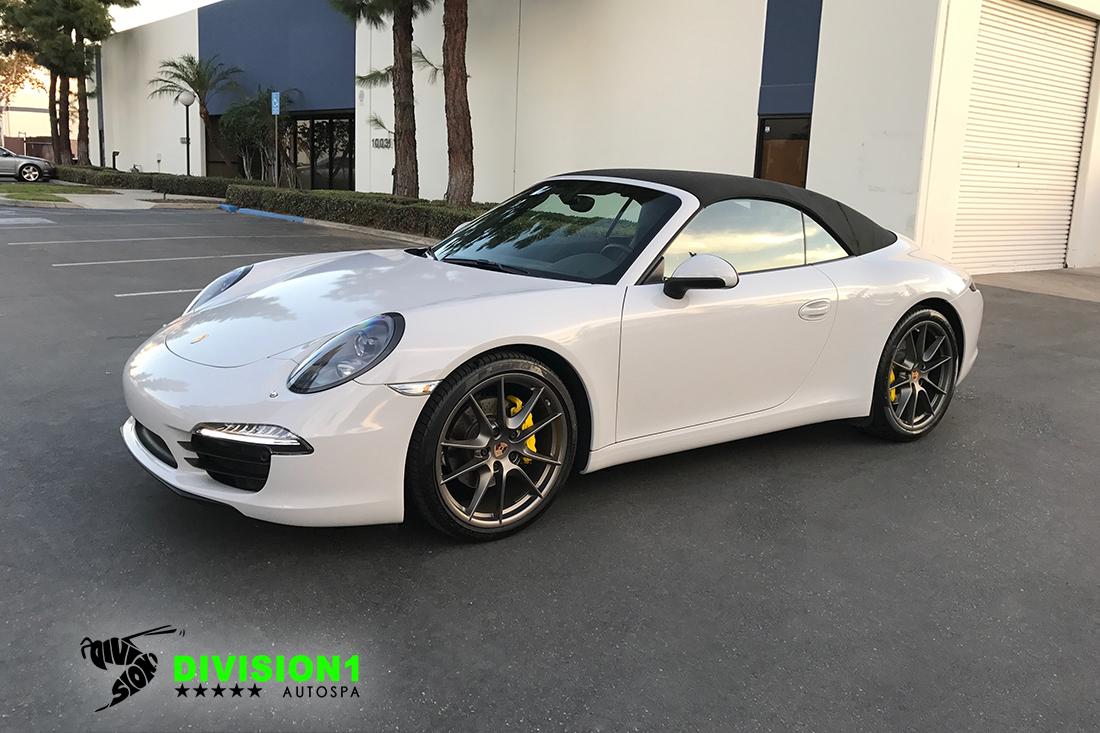 Paint Polish | Clear Bra | Ceramic Pro | Porsche