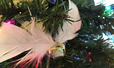 Jingle bell Snitch ornament