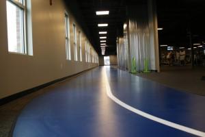 Upstairs - Indoor Walking/Running Track