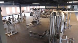 Upstairs - Strength Training Area