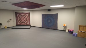 Upstairs - Warm Yoga Studio