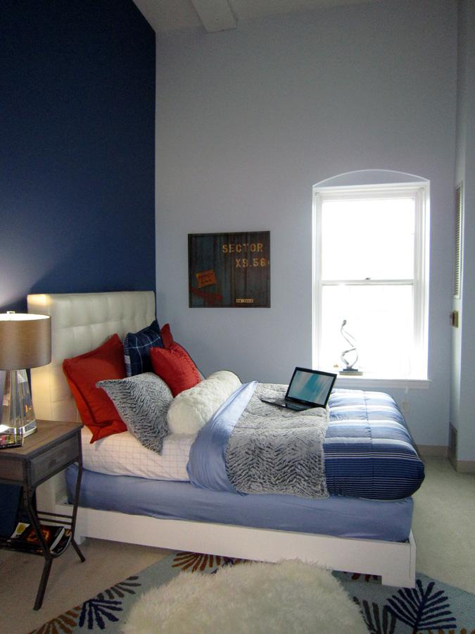 Mill 3-4 master bedroom