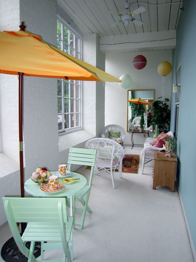 Mill 7: Enclosed sunporch