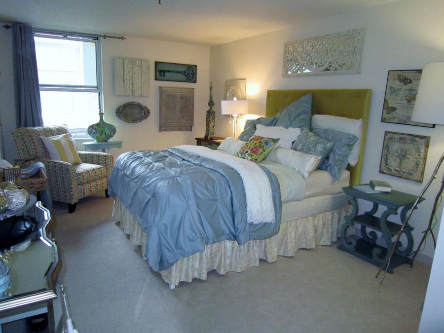 Mill 7: Master Bedroom landscape