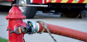 Fire Hydrant and Fire Truck 1405x680