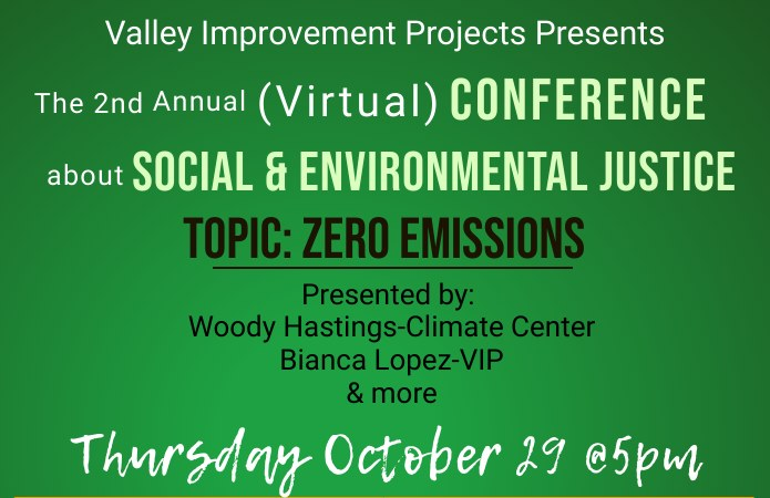 VIP 2nd Annual Social & Environmental Justice Workshop: Zero Emissions/EVs