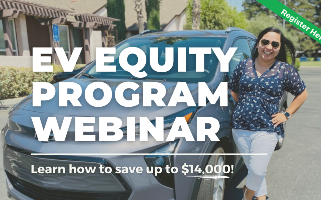 One EV – EV Equity Program Webinar