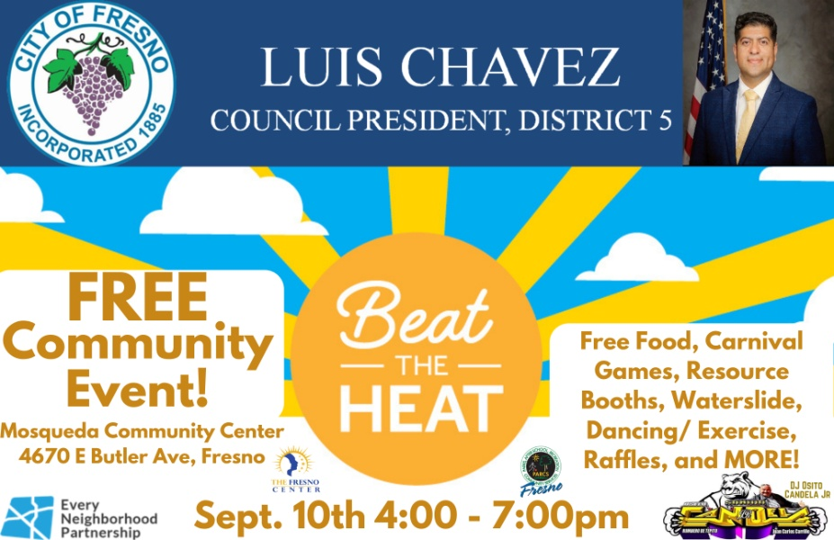 Outreach at Beat the Heat Community Event