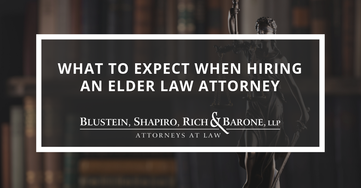 What To Expect When Hiring An Elder Law Attorney