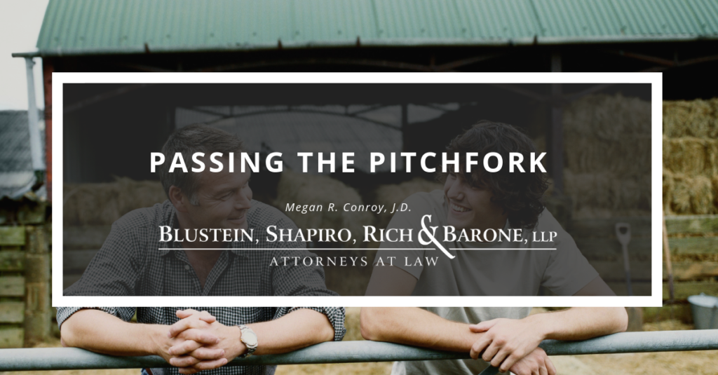 Passing The Pitchfork