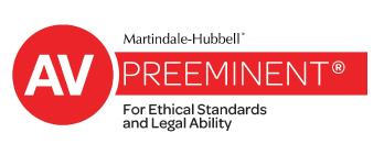 AV rated award for ethical standards and legal ability