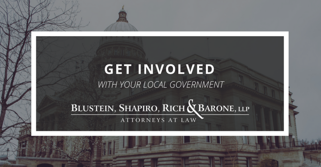 Get Involved With Your Local Government