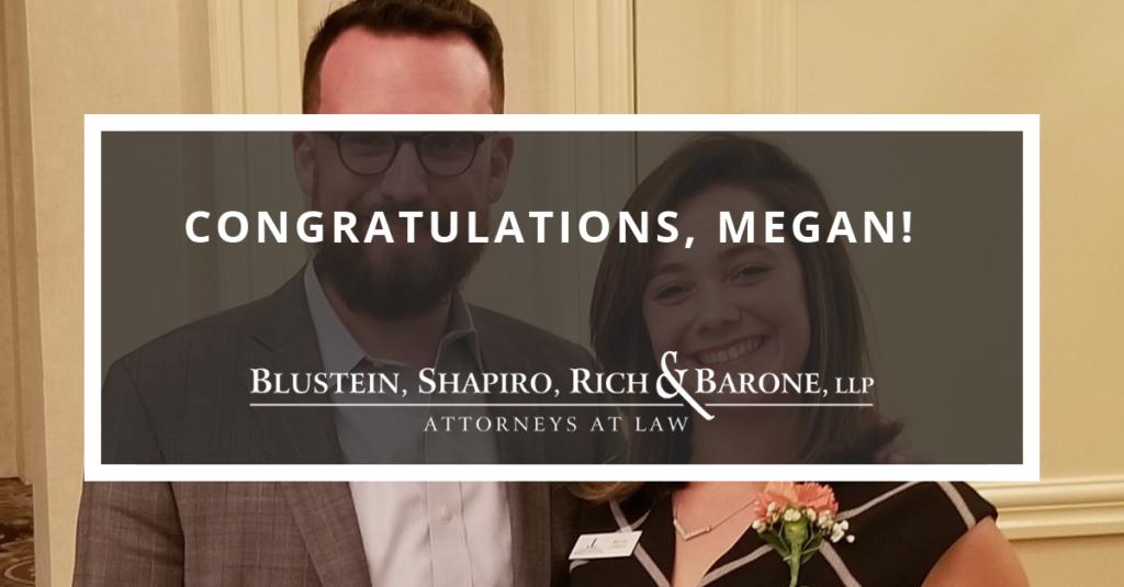 Congratulations, Megan!