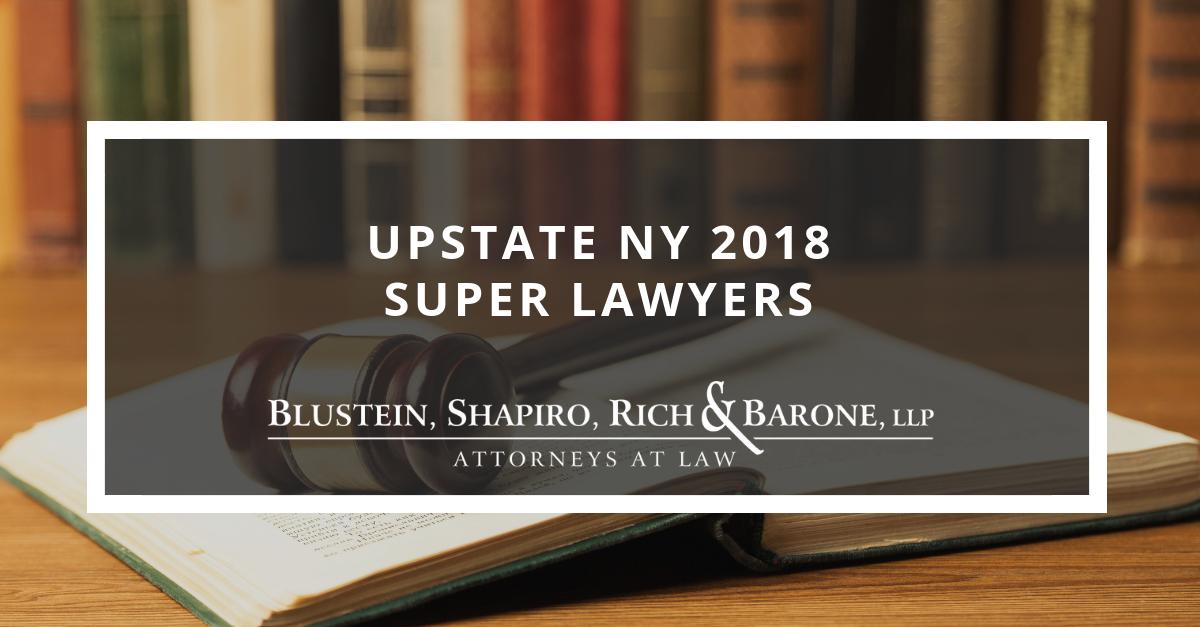 Upstate NY 2018 Super Lawyers