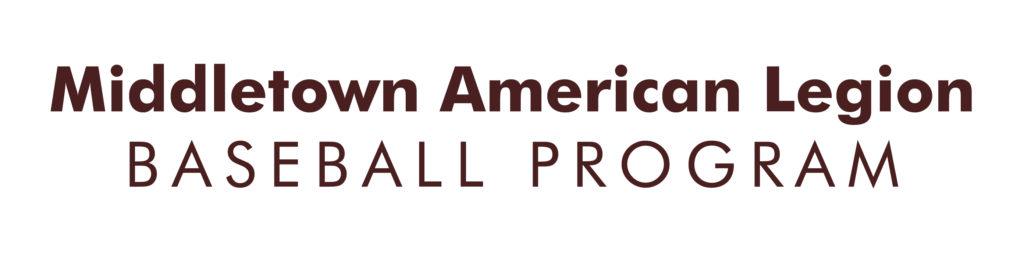 Middletown American Legion Baseball Program logo
