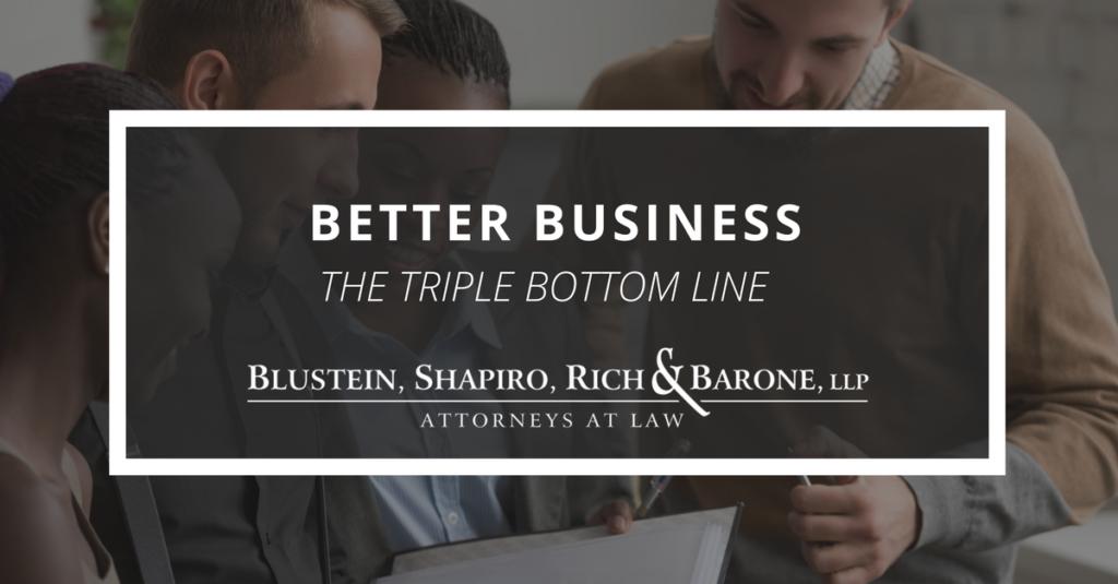 Better Business: The Triple Bottom Line