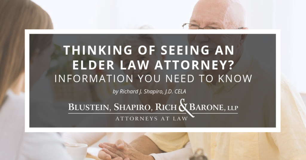Thinking of seeing an elder law attorney?