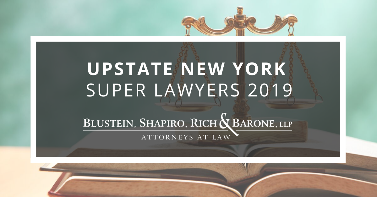 Upstate New York Super Lawyers 2019