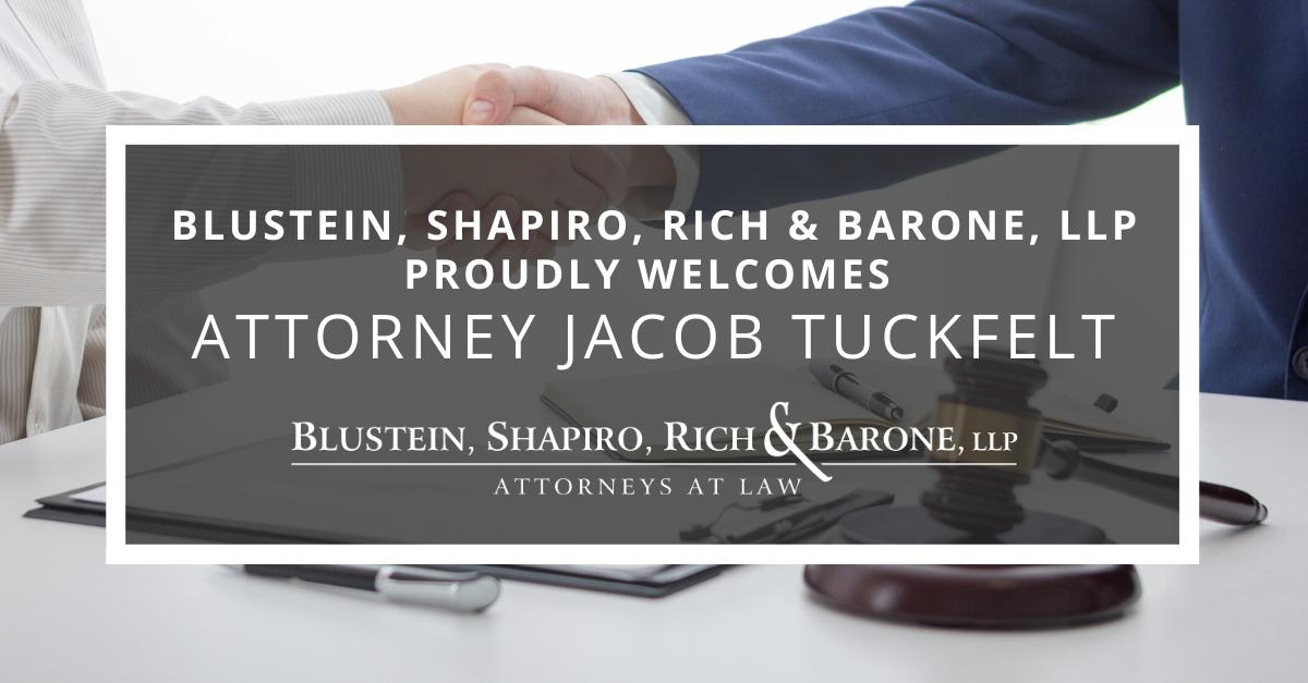 Welcoming Attorney Jacob Tuckfelt