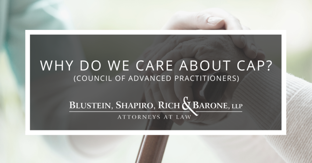 Why do we care about Council of Advanced Practitioners?
