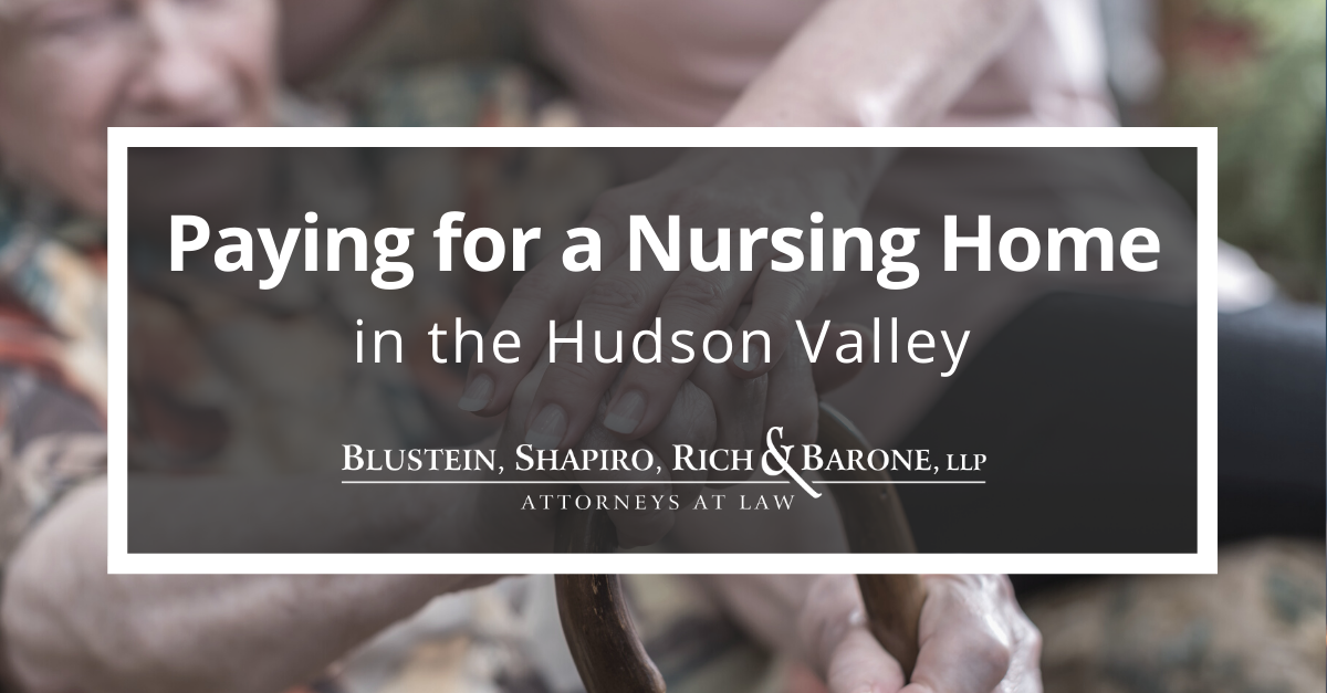 Nursing Home costs in the Hudson Valley