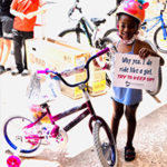 60-plus Kids Rolled Out on New Bikes, Thanks to a Donation from Across the Country to the Children's Healing Institute