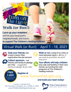 Virtual run flier