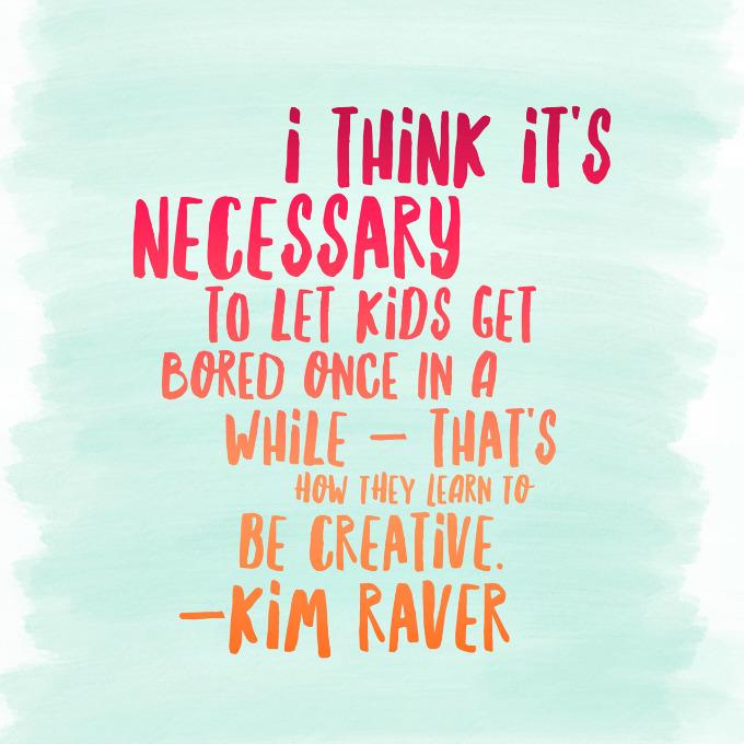 Kim Raver creativity quote