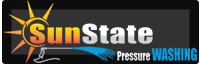 Sunstate Pressure Washing Logo