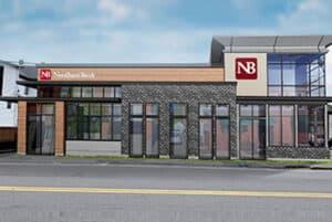 Needham Bank rendering