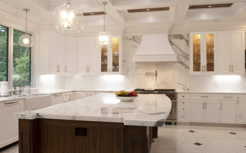 Kitchen with Supreme Cabinets