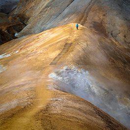 Hiking Kerlingarfjöll Geothermal Area in Iceland Highlands