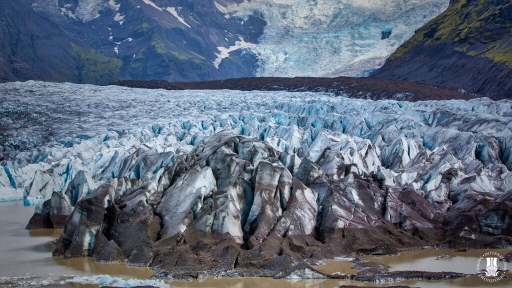Svinafellsjokul Glacier Iceland
