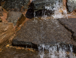 Missouri Black Granite Falls