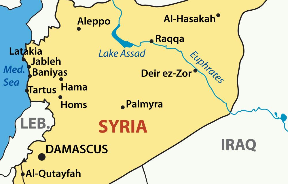 Praying for Syria