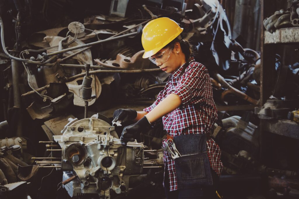 Union engine rebuilder