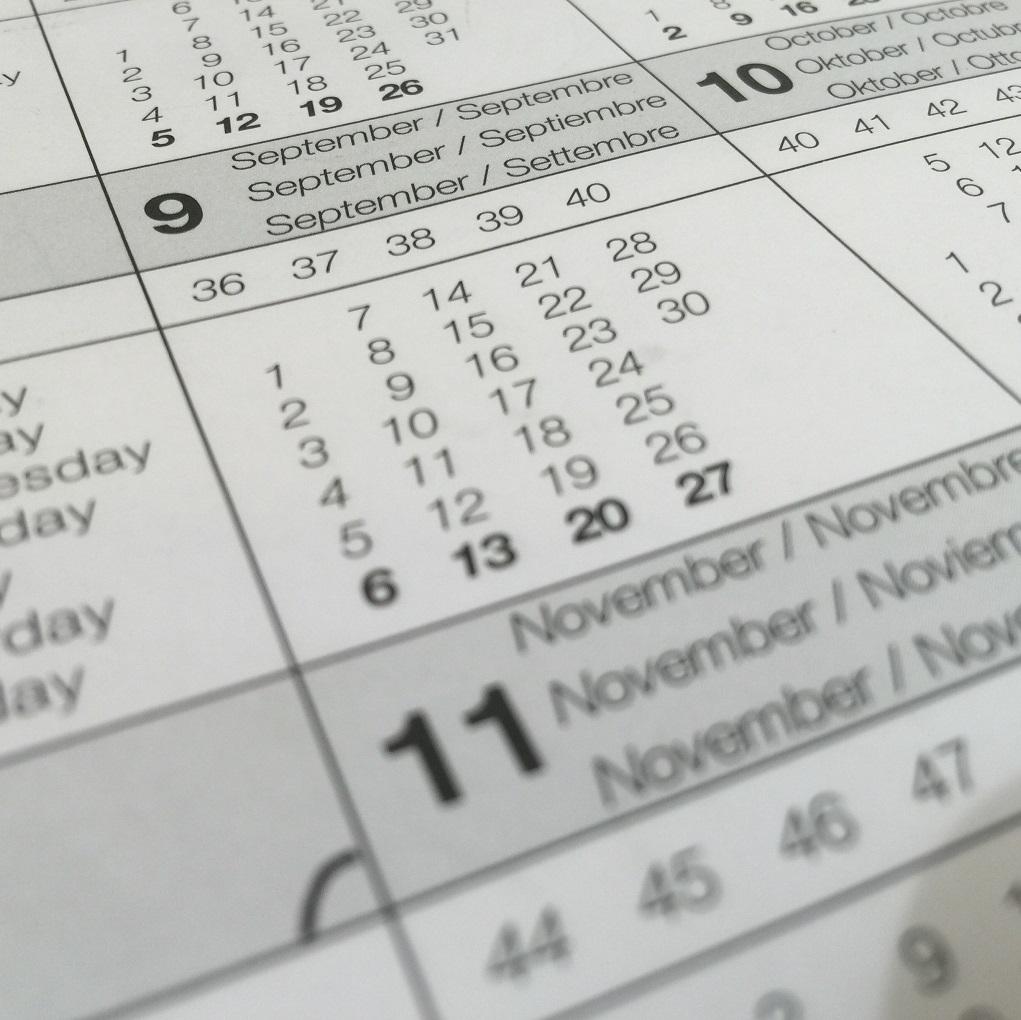 IAM calendar image