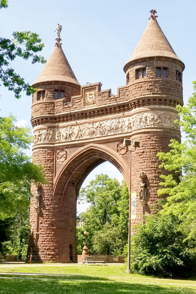 Memorial Arch in Bushnell Park