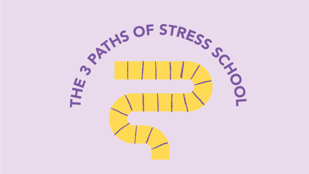 The 3 Paths of Stress School