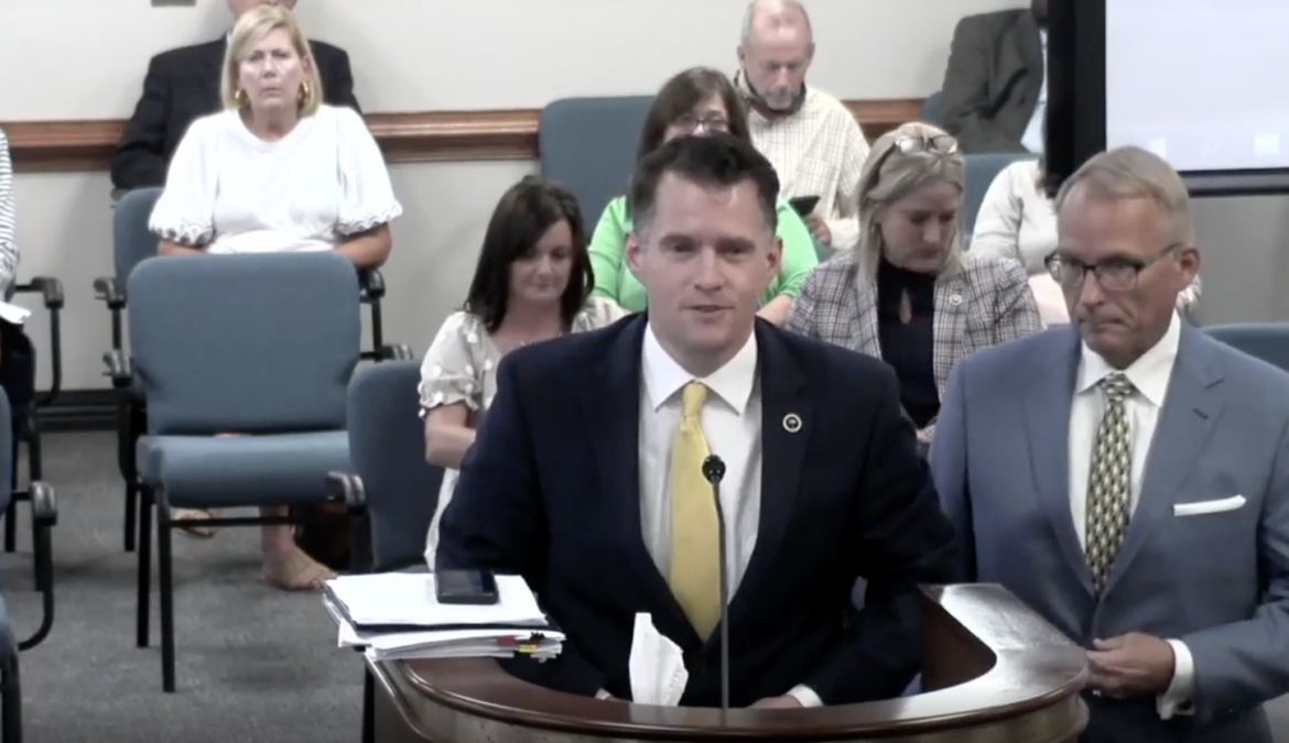 Rep. Stewart Jones testifies for Medical Freedom for COVID-19