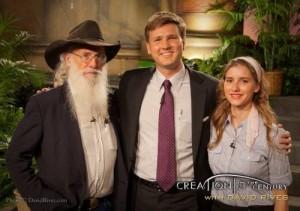 L-R: Joe Taylor, David Rives, and Sara Bruegel