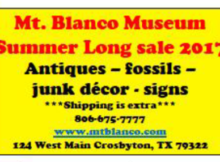 Mt Blanco Sale 2017