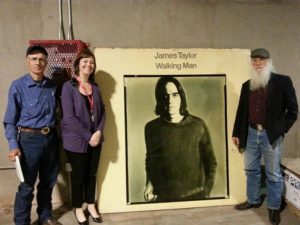 Left to right: Tom Taylor, Cindy Harper, and Joe Taylor