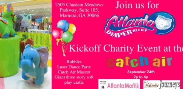 Catch Some Air and Support a Great Cause: Atlanta Diaper Relief to Hold it's First Charity Benefit