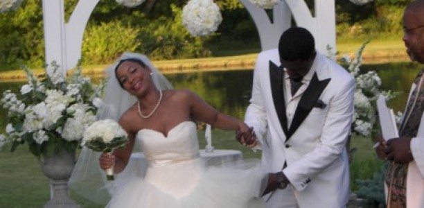 Exclusive! @ComedianSpank tied the Knot and married his longtime sweetheart!