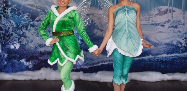 The Winter Woods Come Alive in Downtown Disney! Secret of the Wings comes out on DVD Oct 23rd!