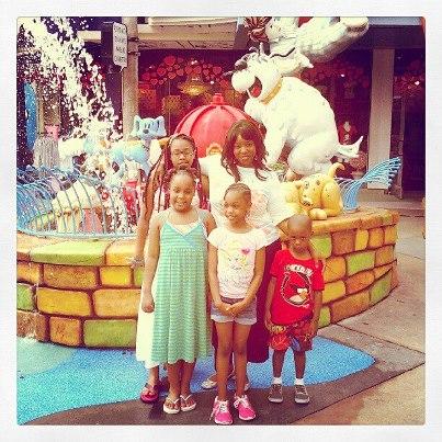 me and girls IOA
