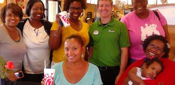 New @ChickFila salads are Refreshing and #Freshmade