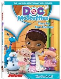 DocMcstuffins DVD cover