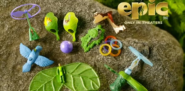 Giveaway: #Win 6 EPIC toys from @McDonalds